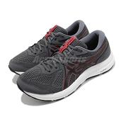 Asics 慢跑鞋 Gel-Contend 7 4E Extra Wide 超寬楦 男鞋 灰 基本款 運動鞋【ACS】 1011B039020
