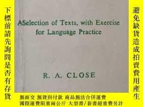 二手書博民逛書店《HE罕見ENGLISH WE USE FOR SCIENCE》(科學用英語)Y1351 R.A. CLOSE