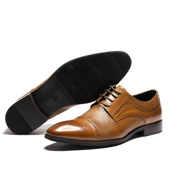 Waltz-真皮商休紳士鞋212565-06棕
