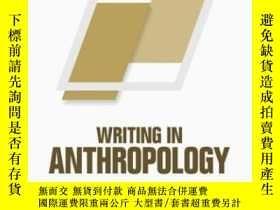 二手書博民逛書店Writing罕見In Anthropology: A Brie
