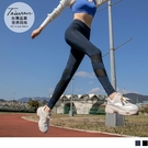 《KS0806》台灣製網布拼接瑜珈褲/束褲 OrangeBear