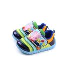 粉紅豬小妹 Peppa Pig 運動鞋 魔鬼氈 童鞋 藍色 小童 PG8536 no713
