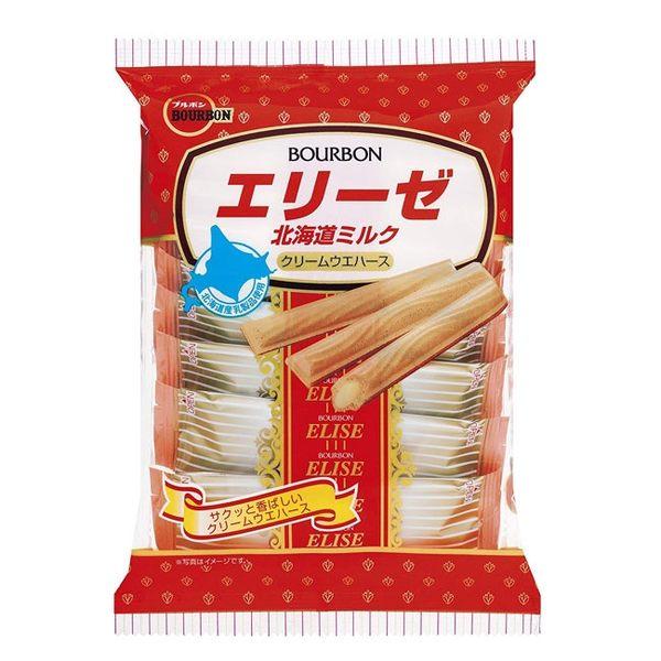 日本 Bourbon 北海道牛奶味 威化餅 64.8g (OS小舖)