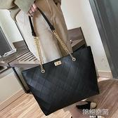 包包女包新款2021網紅手提包女大包大容量單肩包時尚高級感托特包