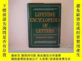 二手書博民逛書店Lifetime罕見Encyclopedia Letters-終生百科全書書信Y436638 Harold E