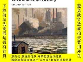 二手書博民逛書店Major罕見Problems In American Environmental HistoryY36468