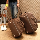 拉桿包旅行包女正韓手提大容量折疊行李包男登機包待產包2019新款jy【免運】