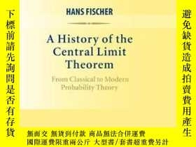 二手書博民逛書店A罕見History Of The Central Limit TheoremY256260 Hans Fis