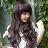 假髮女長卷髮韓國時尚網紅大波浪自然可愛全套頭蓬松假髮套【快速出貨限時八折】