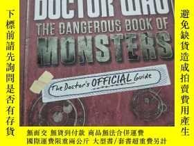 二手書博民逛書店BBC罕見DOCTOR WHO THE DANGEROUS BOOK OF MONSTERSY25624 見實