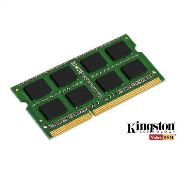 【新風尚潮流】金士頓筆記型記憶體 8G 8GB DDR3-1333 終身保固 KVR1333D3S9/8G