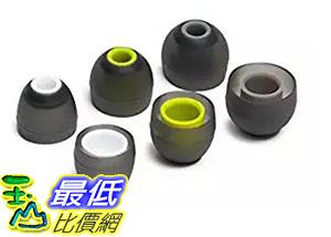 [106美國直購] ITIS B010WRF3M0 (小/白芯款)專用替換耳塞 3 Pairs Silicone Eartips Earbuds For JayBirdBlueBuds X, X2