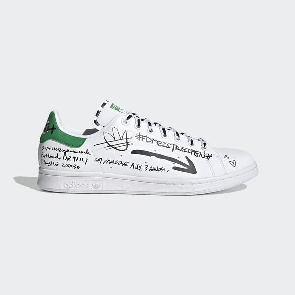 Adidas Stan Smith [GV9800] 男女鞋 運動 休閒 慢跑 復古 經典 潮流 穿搭 愛迪達 白 綠