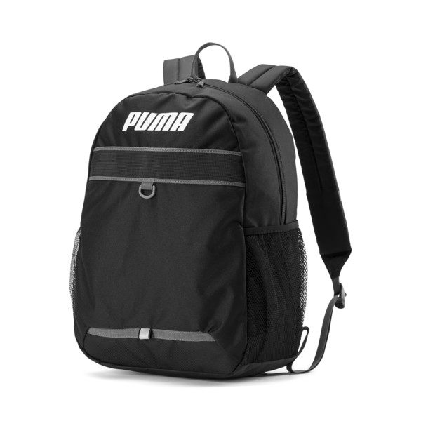 Puma Plus 黑 反光LOGO 後背包 (布魯克林) 07672401
