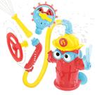 ◆吸盤附在平滑面上,能牢牢吸穩不晃動 ◆消防栓能夠抽水,建議水深高於10cm以上