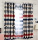 食尚玩家  成品全遮光小窗簾飄窗短窗簾卡通兒童房 200cm寬*200cm高掛鉤式  支持定制