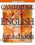 二手書博民逛書店《Cambridge English for Schools 1