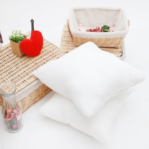 水洗抱枕 50x50 枕心/裸枕 (M號) 台灣製- 六入組 《Embrace英柏絲》