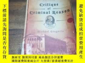 二手書博民逛書店CRITIQUE罕見Of CRIMINAL REASONY271