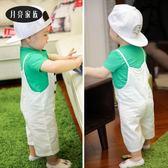 寶寶白色t恤薄款短袖透氣嬰兒夏天上衣女6個月9男童夏裝0一1-3歲2三角衣櫥