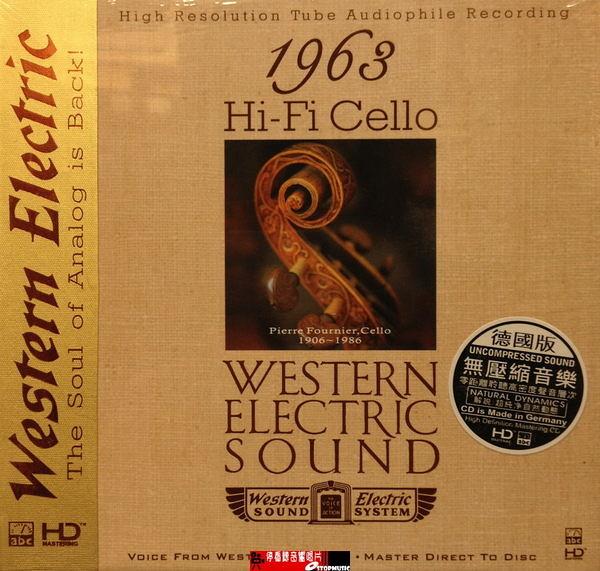 停看聽音響唱片】【CD】Hi-Fi Cello WESTERN ELECTRIC SOUND