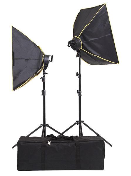 VL5070 LED 無影罩冷光攝影棚燈 (兩只裝) 176顆LED燈芯 【公司貨】