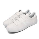 New Balance 休閒鞋 NB 210 白 黑 男鞋 女鞋 小白鞋 帆布 魔鬼氈 運動鞋 【ACS】 AM210VWUD