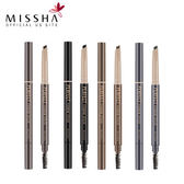 韓國 MISSHA 完美造型旋轉眉筆 0.35g 多色可選 雙頭 眉刷 眉筆 孫藝珍代言