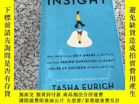 二手書博民逛書店Insight罕見The Power of Self-Aware