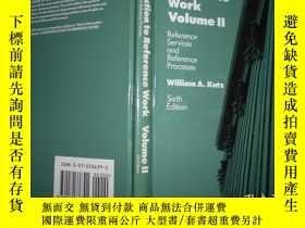 二手書博民逛書店introduction罕見to reference work volume2Y159723