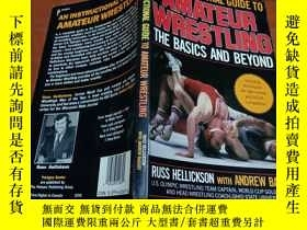 二手書博民逛書店英文原版:AMATEUR罕見WRESTLING THE BASI