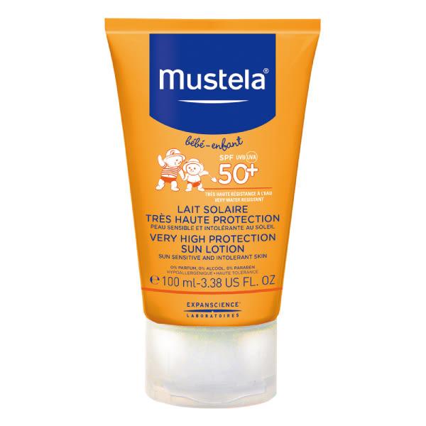 Mustela慕之恬廊 高效性兒童防曬乳SPF50+(100ml)