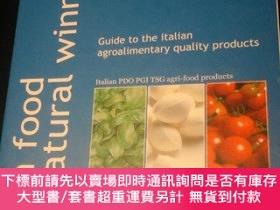 二手書博民逛書店italian罕見food the natural winner :guide to the italian ag