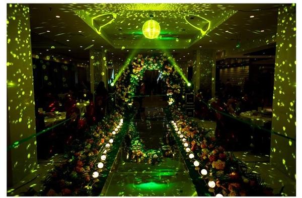 七彩旋轉燈 玻璃鏡面球反光球圣誕球寫真道具舞臺酒吧KTV迪斯科反射球【快速出貨八折特惠】