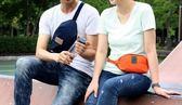 ◄ 家 ►~Y35 ~隨身小腰包休閒旅行包騎行包男女腰包胸前包斜背包旅行腰包腰包