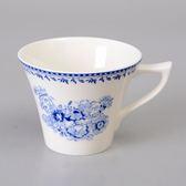 【Luzerne】陸升瓷器  Lancaster 170ml茶杯-藍 /LC1434015