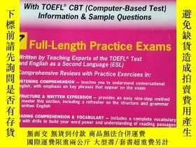 二手書博民逛書店The罕見Best Test Preparation for the TOEFL TEST Test of Eng