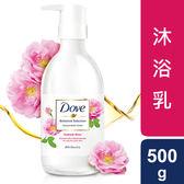 多芬日本植萃沐浴乳 粉玫瑰光滑水潤 500G