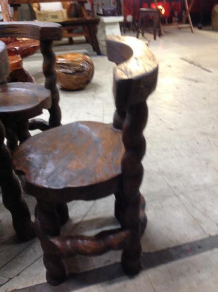 8號店鋪 森寶藝品傢俱企業社 休閒椅組  原木休閒客廳椅組~~全實木~~實體店面~~~