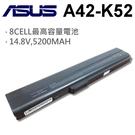 ASUS 8芯 日系電芯 A42-K52 電池  X52N X5I X5IDE X5ID X5IDR X5IDYX5IF X5IJ X5IJB X5IJC X5IJE
