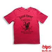 BOBSON 男款Great印圖T恤(20042-15)