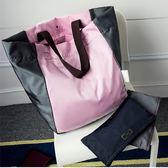 大容量可折疊便攜購物袋環保單肩防水手提