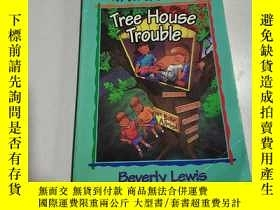 二手書博民逛書店Tree罕見House Trouble:樹屋問題(外文)Y212