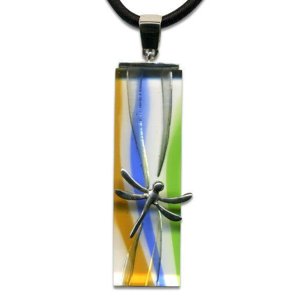 鹿港窯~開運古法水晶琉璃銀飾項鍊~ 田園春曉 附精美包裝◆免運費送到家