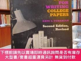 二手書博民逛書店student`s罕見guide for wrting college papers Second Edition