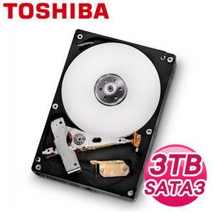 [富廉網] TOSHIBA 東芝 DT01ACA300 3TB 64M 3.5吋 SATA3硬碟
