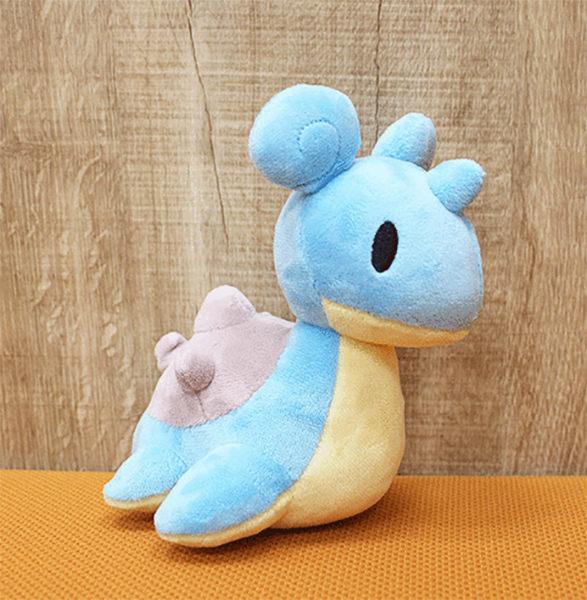 拉普拉斯 乘龍 絨毛娃娃 玩偶 Q版 Pokemon 寶可夢 神奇寶貝 日本正品 該該貝比日本精品 ☆