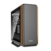 【德隆】Be quiet! SILENT BASE 801 WINDOW 強化玻璃側板電腦機殼(橘黑)【刷卡分期價】
