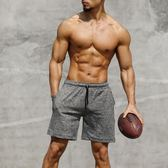 運動短褲男跑步健身速干薄款休閒夏季寬鬆訓練中褲籃球五分褲男士【叢林之家】