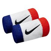 Nike Swoosh [N0001586620OS] 加長 護腕 腕帶 運動 打球 健身 吸濕 排汗 乾爽 彈性 藍紅